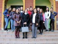Лекция, посветена на трафика на хора, бе представена в Търговската гимназия в Червен бряг