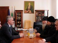 Кметът Спартански се срещна с митрополита на най-старата епархия в Русия