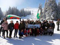 """Ученици от Кнежа участваха в Националния туристически събор """"Снежен рай 2019"""" (галерия)"""