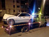 """BMW и """"Ауди"""" се сблъскаха на кръстовище в Плевен"""