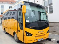 С нов училищен автобус се обнови автопаркът на Община Кнежа