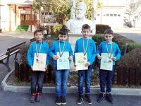 """Ученици от НУ """"Христо Ботев"""" – Плевен завоюваха медали от математическо състезание"""