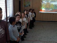 """Второкласници от НУ """"Отец Паисий"""" – Плевен изнесоха пред своите съученици представление за Левски"""