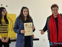 Млада пчеларка с престижна награда от изложението в Плевен /снимки/