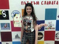 """Стефани Славчева от ВГ """"Арлекино"""" с трето място на националния конкурс """"Път към славата"""""""