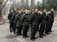 29 човека стартираха от днес курс за начална военна подготовка в Плевен
