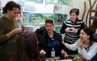 Езиковата в Плевен посрещна учители и ученици от Полша, Румъния, Италия и Гърция (галерия)