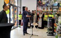 Георг Спартански присъства на откриването на нова търговска база в Плевен