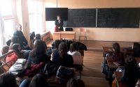 """Магистрат от Окръжния съд изнесе лекция пред ученици от МГ """"Гео Милев"""" – Плевен"""