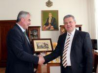 Кметът Георг Спартански се срещна с посланика на Беларус в България