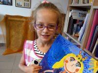 """Петгодишна художничка от Артшкола """"Колорит"""" – Плевен с приз от Япония"""