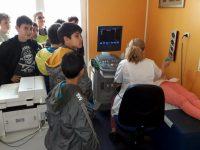 """Открит урок в медицински център проведоха ученици от ОУ """"Свети Климент Охридски """" – Плевен"""
