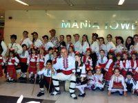 """Деца от ДГ """"Звънче"""" и родителите им с общ танц на форум за предучилищно образование"""