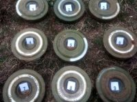Унищожени са откритите вчера в село Ясен противотанкови мини