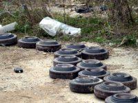 Откриха 9 противотанкови мини край Ясен