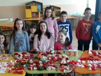 "От ОУ ""Лазар Станев"" подариха мартенички на децата в ЦНСТ – Плевен"