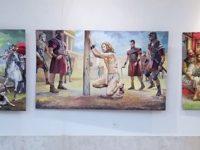 Изложба на Румен Марков откриха в читалището в Долни Дъбник