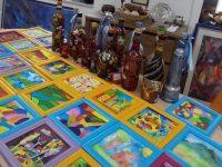 """Изложба-базар """"Пролетно вдъхновение"""" наредиха малките таланти на арт школа """"Колорит"""""""
