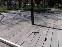 """За пореден път декингът около """"глухарчетата"""" в Плевен е за ремонт"""