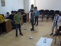 Занимания с роботчета проведоха третокласници в плевенската Библиотека