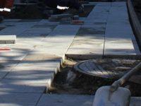 Завършват ремонтите на няколко участъка от тротоари в Плевен