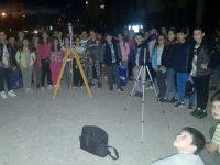 """Ученици от СУ """"Стоян Заимов"""" – Плевен наблюдаваха с телескопи звездното небе"""