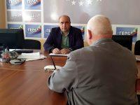 От лошото състояние на улици в Плевен се оплакаха граждани в приемния ден на Владислав Николов