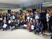 """Ученици от Езикова гимназия – Плевен – победители в състезания по проект """"Бъди във форма за Европа"""""""