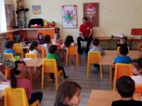 """ДГ """"Щурче"""" и БМЧК – Плевен заедно отбелязаха Световния ден на детската книга"""
