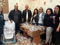 55 деца получиха козунаци и лакомства за Великден