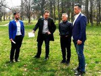 По идея на Йордан Йовчев в Плевен изграждат площадка за фитнес на открито