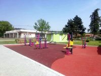 Нов спортен център радва жителите на Искър (снимки)