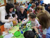 """Великденска работилница с благотворителна кауза се проведе в ДГ """"Щастливо детство"""" – Плевен"""