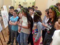 """Изложба от рисунки на бесарабски българчета бе открита днес в НУ """"Патриарх Евтимий"""" – Плевен"""