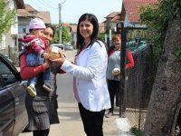 Козунаци получиха социално слаби жители на община Кнежа