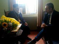 Председателят на Общински съвет – Плевен поздрави с рождения ден Плевенския митрополит Игнатий