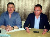 Кандидатът за евродепутат Ангел Джамбазки се срещна с превозвачи в Плевен