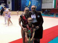 Момиче от Левски с отличие на Международен турнир по спортна акробатика