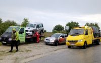 Катастрофа заради отнето предимство стана на пътя Плевен – Русе (снимки)