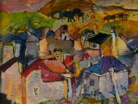 Живописни платна на Илия Милков представят в Артцентър Плевен