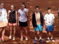 """Първи места за тенисистите на ТК """"Плевен 90"""" на регионалното до 16 години"""