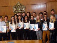 Ученици на ПГПЧЕ – Плевен получиха немски езикови дипломи