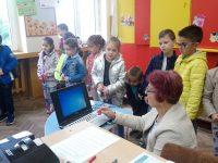"""Бъдещи първокласници от ДГ """"Снежанка"""" разбраха какво е да си ученик в ОУ """"Лазар Станев""""- Плевен"""