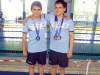 Плевенчаните Алекс и Дейвид Найденови снови успехи на международен плувен турнир