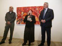 Откриха юбилейна изложба на Стилиян Атанасов в Артцентър Плевен – снимки