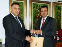 Областният управител Мирослав Петров прие румънския депутат Еуген Първулеску