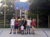 """Децата от школата на баскетболния """"Спартак"""" вече имат още едно любимо място за игра"""