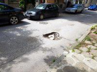 """Ремонтът на тротоари и изкърпването на улици са приоритетни в графика на """"Инжстрой"""" тази седмица"""