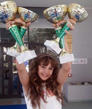 Грандиозен успех за талантливата Елизабет Захариев на фестивал в Италия