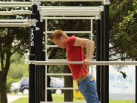 """В началото на юли ще е готова площадката за стрийт фитнес в парк """"Десети декември"""" в Плевен"""